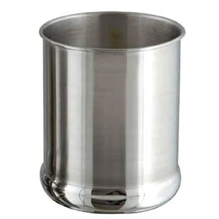 Cylinder Polished Utensil Crock