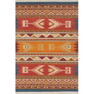 Orange Tribal Rug Wayfair