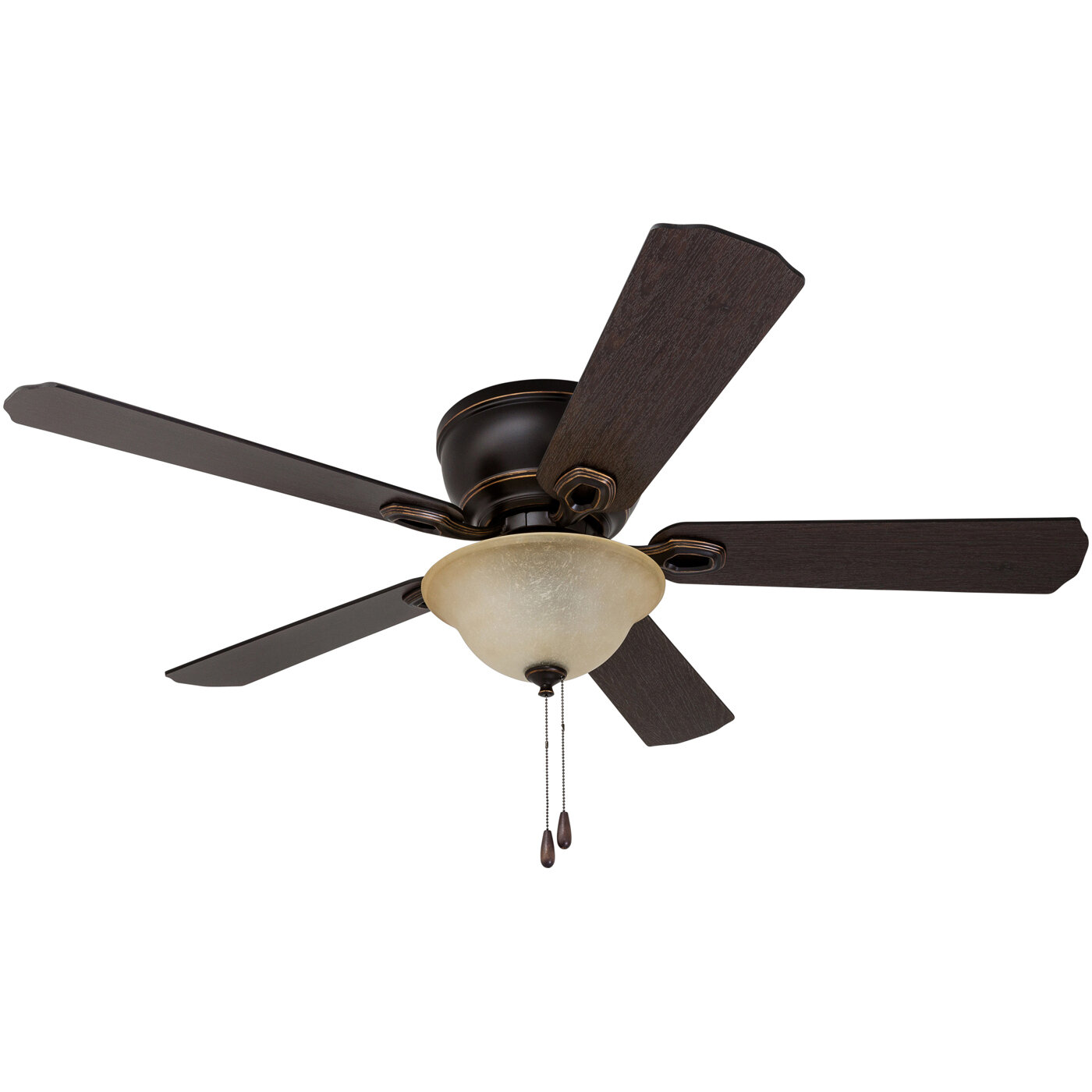 """Winston Porter 52"""" Espinosa 5 Blade LED Ceiling Fan with Remote"""