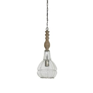 Crews Large 1-Light Novelty Pendant by Bungalow Rose