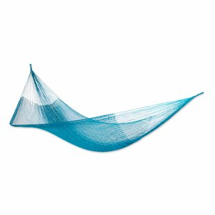 Radcliffe Teal Haven Camping Hammock by Bloomsbury Market Find