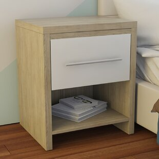 Sloane 1 Drawer Bedside Table By Zipcode Design