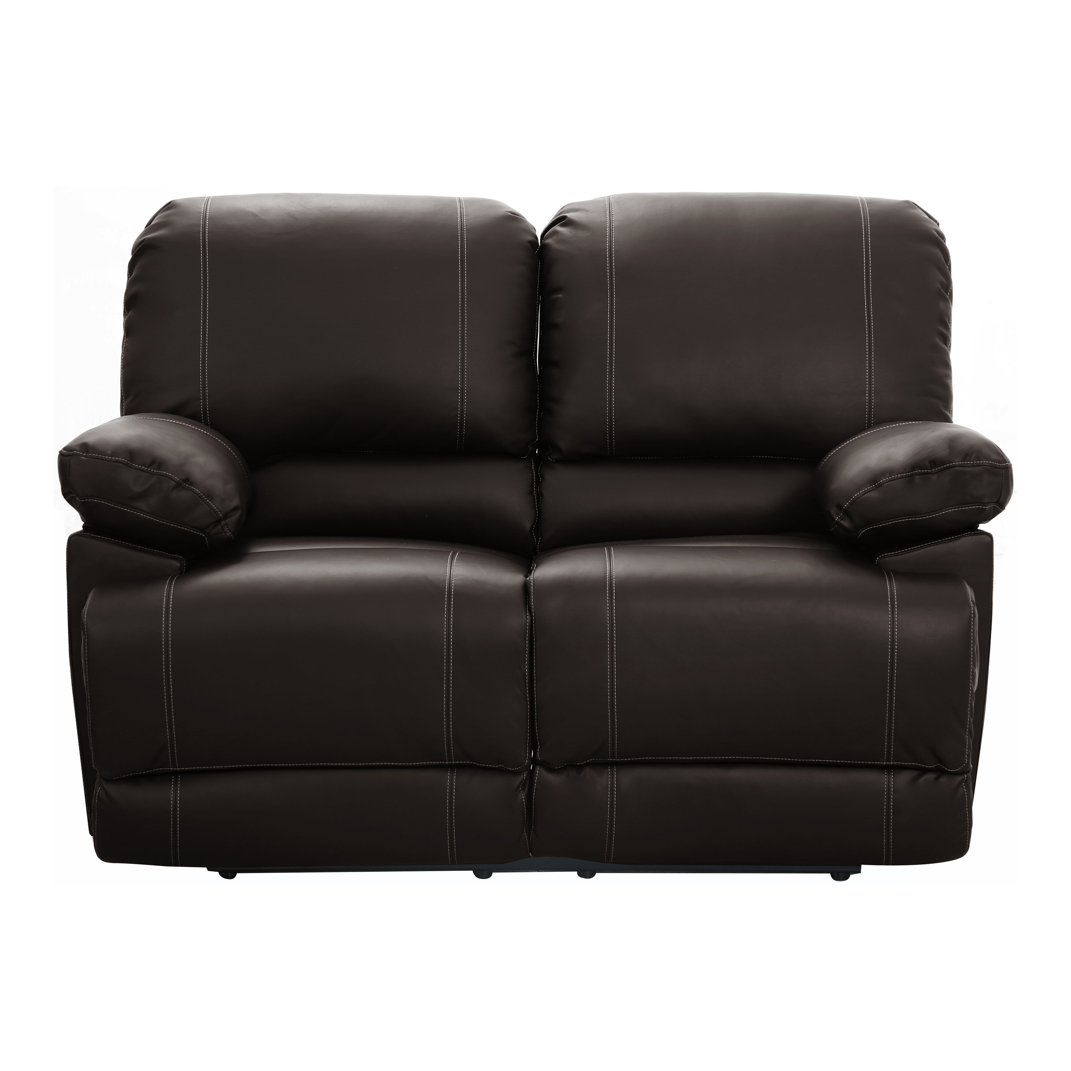 Andover Mills Edgar Faux Leather 61 Wide Pillow Top Arm Reclining Loveseat Reviews Wayfair