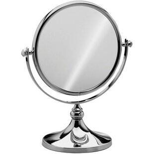 Best Choices Housley Round Double-Sided Makeup/Shaving Mirror ByCharlton Home