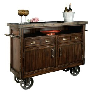 Barrow Wine/Bar Cart by Howard Miller?