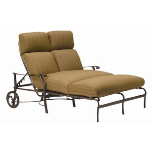 Montreux Double Reclining Chaise Lounge with Cushion
