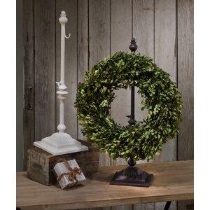 Adjustable Height 1 Hook Wreath Hanger