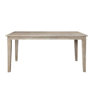 Milo Wooden Dining Table by Ophelia & Co. Discount