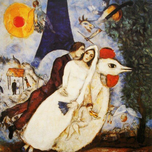 Marc Chagall Canvas Art Wayfair