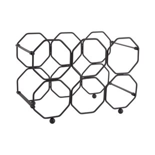 6 Bottle Tabletop Wine Rack By Present Time