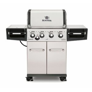 Regal S440 4-Burner Gas Grill with Side Burner