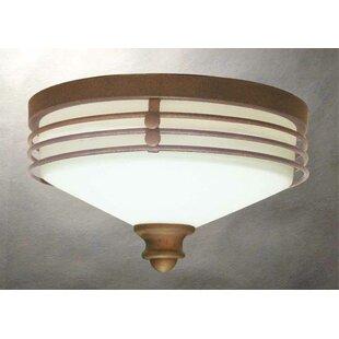 Volume Lighting Avila 1-Light Ceiling Fixture Flush Mount