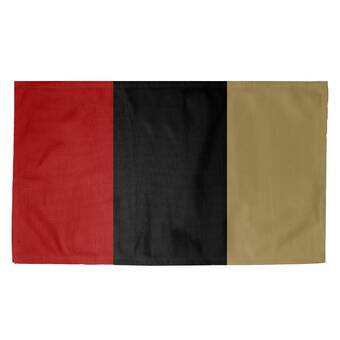 East Urban Home San Francisco Football Red Black Beige Area Rug Wayfair