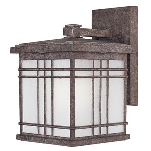 Find for Sawyer 1-Light Outdoor Wall Lantern (Set of 6) By Loon Peak