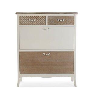 Ailen 12 Pair Shoe Storage Cabinet By Fleur De Lis Living