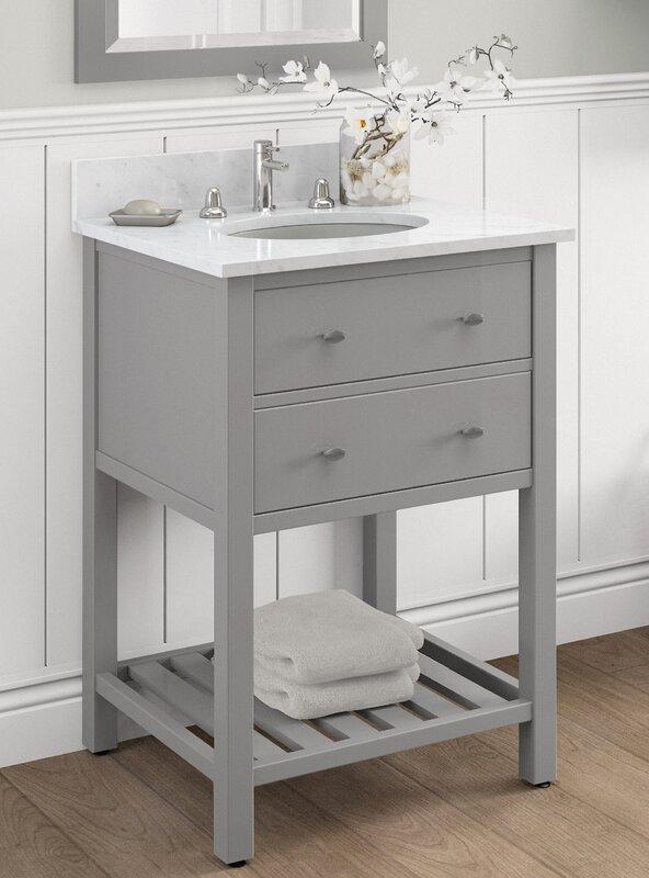 Bathroom Vanities With Drawers. Harrison 25 Bath Vanity