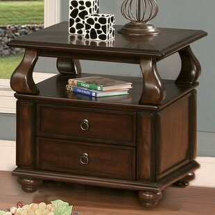 Chulmleigh End Table with Storage