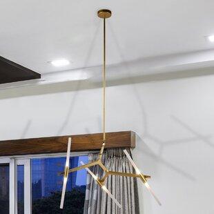 Ivy Bronx Alto 6-Light Sputnik Chandelier