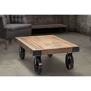 Charney Rustic Charm Coffee Table