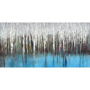 'Mirage Horizontal Panel' by Sandy Doonan Painting Print on Wrapped Canvas