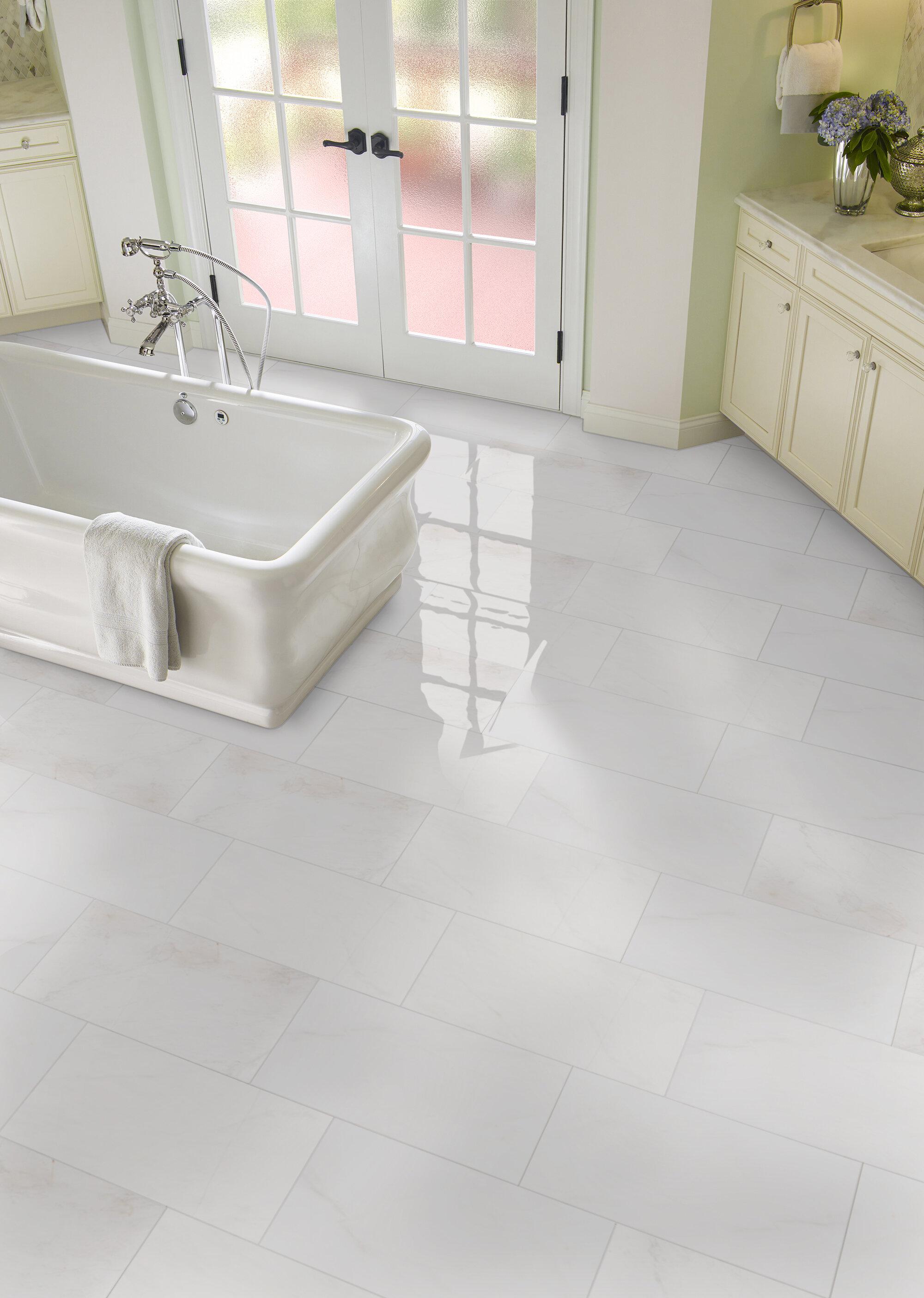 Msi Bianco Dolomite 12 X 24 Marble Field Tile Reviews Wayfair