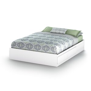 Vito Storage Platform Bed by South Shore