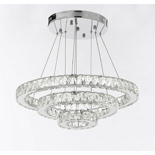 Mercer41 Laxton 162-Light LED Crystal Chandelier