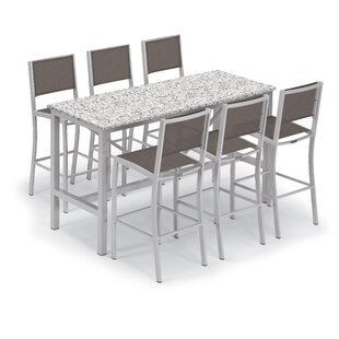Bunburry 7 Piece Bar Height Dining Set