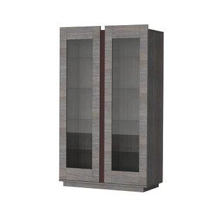 Jaclyn Standard Display Cabinet By Mercury Row