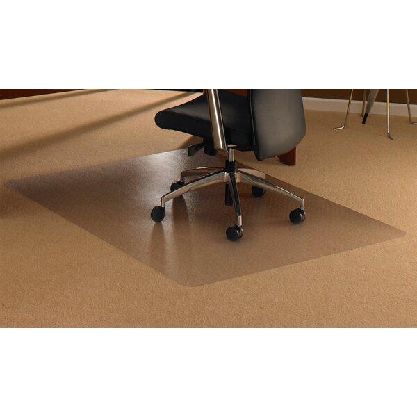 FLOORTEX Cleartex High Pile Carpet Straight Chair Mat & Reviews | Wayfair