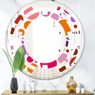 Best Usa Luxury Vanity Mirror Brands Unho 24 Led Mirror Round Wall Mount Lighted Mirror Makeup Vanity Mirror With Touch Button