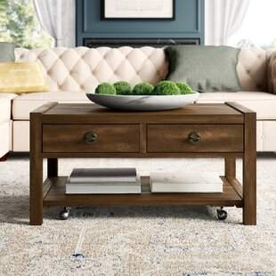 Read Reviews Arbyrd Coffee Table with Storage By Greyleigh