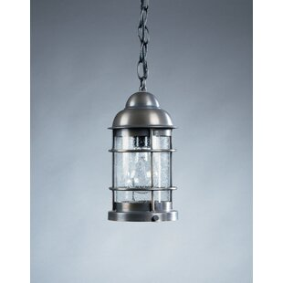 Northeast Lantern Nautical 1-Light Outdoor Hanging Lantern