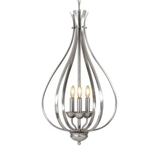 Latitude Run Savarese 3-Light Foyer Pendant