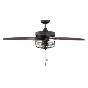 Modern contemporary ceiling fans allmodern glenpool 52 5 blade ceiling fan aloadofball Image collections