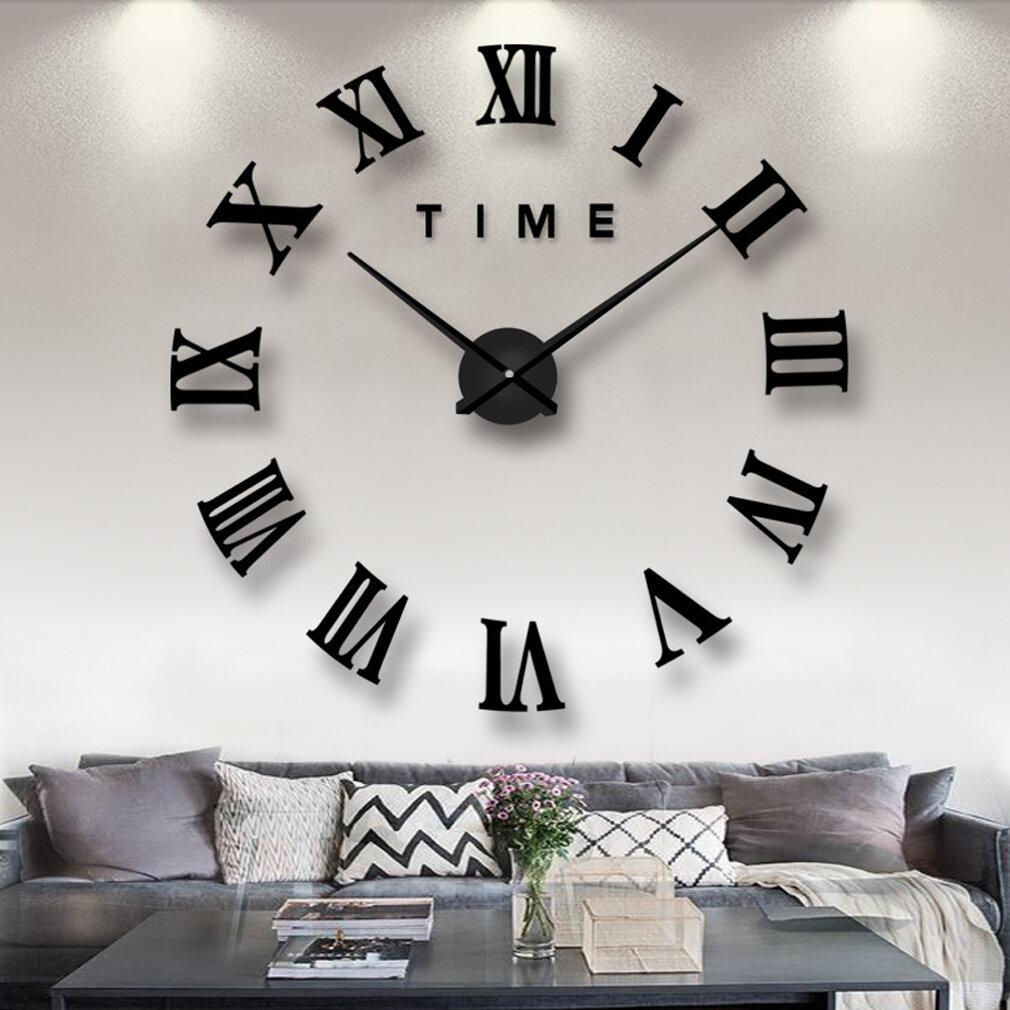 Electric Modern Contemporary Wall Clocks You Ll Love In 2021 Wayfair