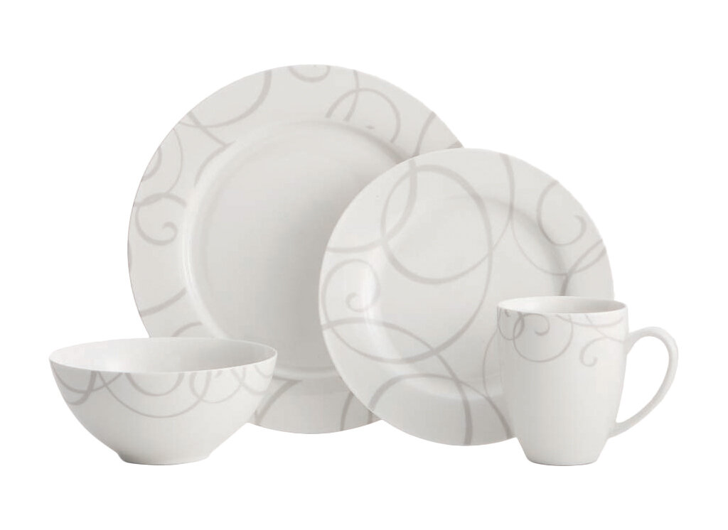 Oneida Symphony 16 Piece Dinnerware Set, Service for 4 & Reviews ...