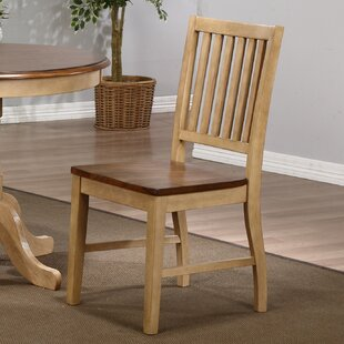 Loon Peak Huerfano Valley Solid Wood Dining Chair (Set of 2)