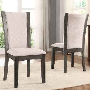 Brayden Studio Kangas Upholstered Dining Chair (Set of 2)