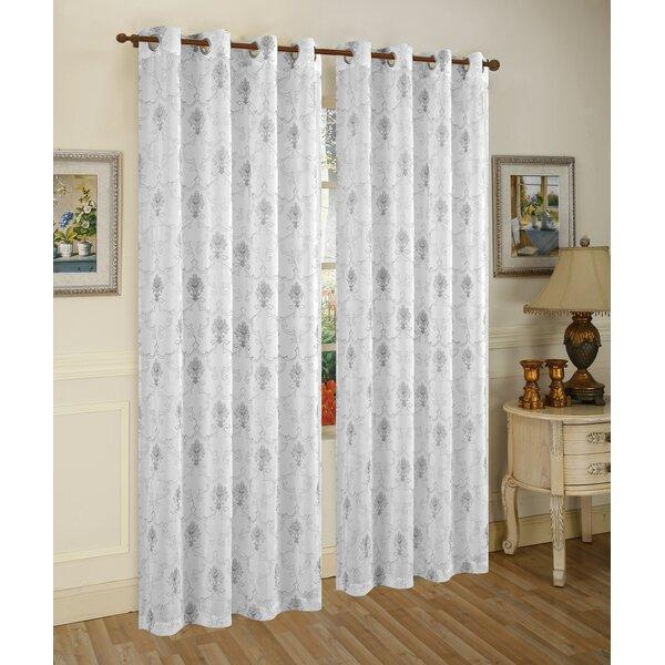 Fleur De Lis Curtain Panel Wayfair