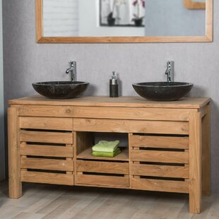 Gabbard 145mm Free-standing Double Vanity Unit By Beachcrest Home