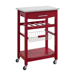 Red Kitchen Islands & Carts You'll Love | Wayfair