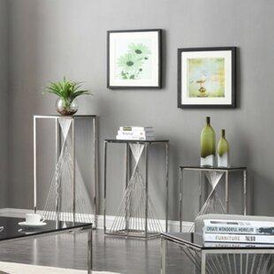 Willa Arlo Interiors Kendra 3 Piece End Table Set