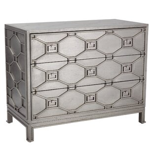 Greenbrier 3 Drawer Chest by Global Views