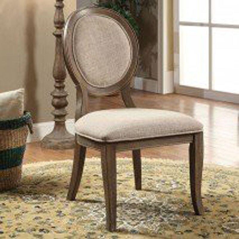 One Allium Way Aslan Upholstered Dining Chair (Set of 2)