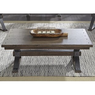 Cleaver Coffee Table by Gracie Oaks