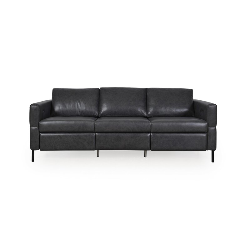 Belvidera Leather Reclining Sofa