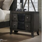 Beveridge 2 Drawer Nightstand by Williston Forge