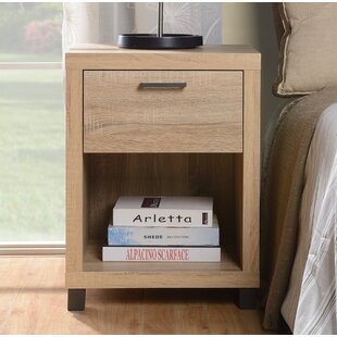 Ebern Designs Cowell 1 Drawer Nightstand