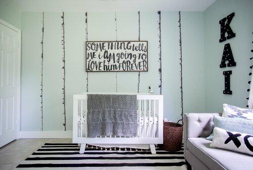Shop this Room - Bohemian Nursery Design